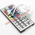 کنترلر و درایور RGB با ریموت کنترل 44 کلید