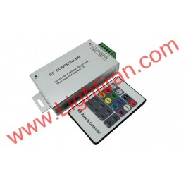 کنترلر  RGB با ریموت کنترل رادیویی - 24 آمپر